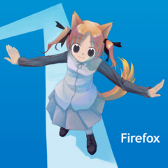 About 用 Firefox 娘。